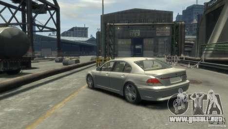 BMW 760I para GTA 4 left