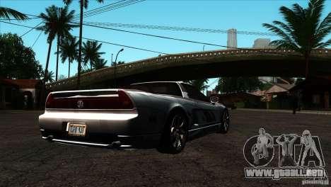 Acura NSX Stock para la visión correcta GTA San Andreas