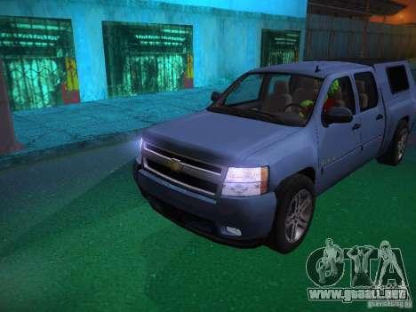 Chevrolet Silverado para el motor de GTA San Andreas