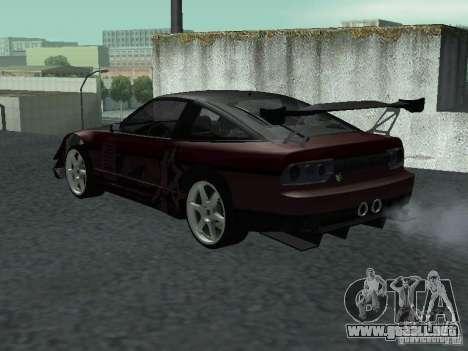 Nissan 240 SX para GTA San Andreas left