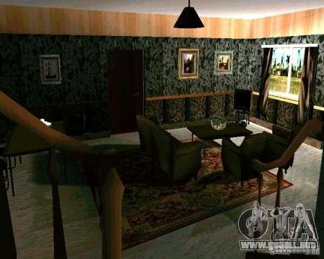 Nueva casa CJ v2.0 para GTA San Andreas tercera pantalla