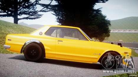 Nissan Skyline 2000 GT-R para GTA 4 left