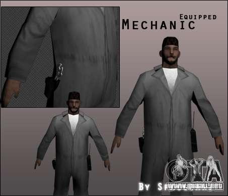 Mecánico para GTA San Andreas