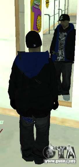 Vagos Gang Skins para GTA San Andreas séptima pantalla