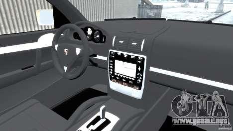 Porsche Cayenne S 2008 para GTA 4 visión correcta