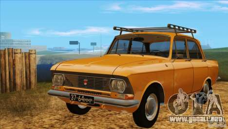 Moskvich 412 v2.0 para GTA San Andreas