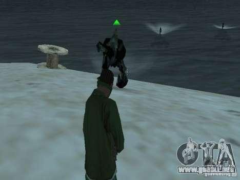 Monstruos submarinos para GTA San Andreas segunda pantalla
