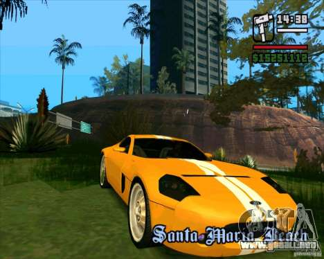 Shelby GR-1 para GTA San Andreas left
