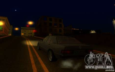 Mercedes-Benz 190E W201 para GTA San Andreas left