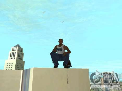 Weapons Pack para GTA San Andreas sucesivamente de pantalla