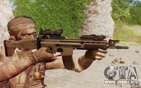 FN Scar L para GTA San Andreas