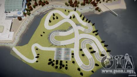 Edem Hill Drift Track para GTA 4