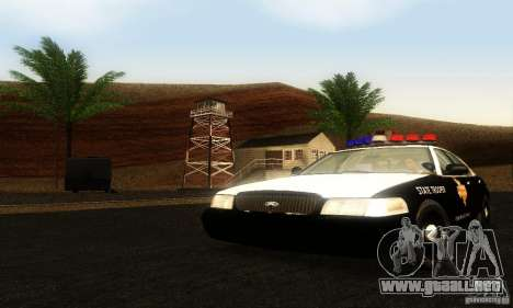 Ford Crown Victoria Texas Police para GTA San Andreas