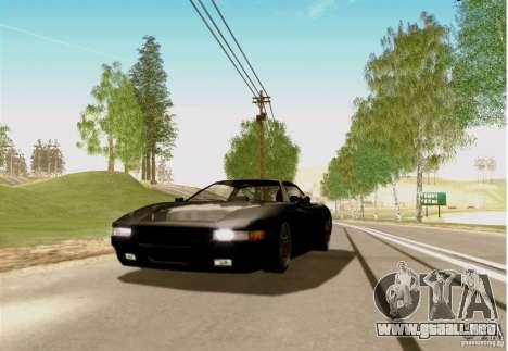ENBSeries FS by FLaGeR v 1.0 para GTA San Andreas quinta pantalla
