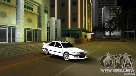 Peugeot 406 Taxi 2 para GTA Vice City vista lateral izquierdo