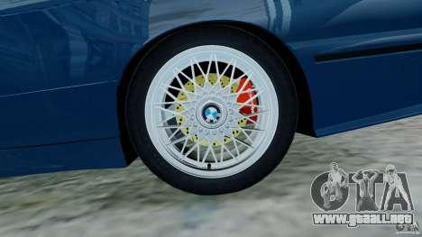 BMW M3 E30 FINAL para GTA 4 vista hacia atrás