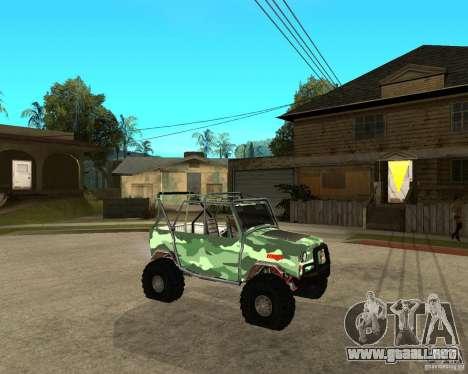 469 UAZ HUNTER para la visión correcta GTA San Andreas