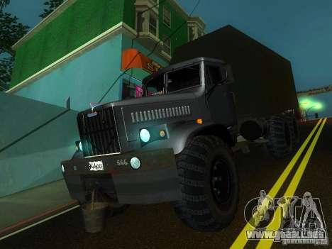 KrAZ-254 para GTA San Andreas