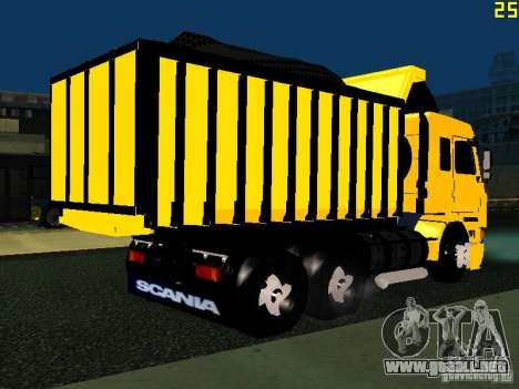 Scania 113H para la visión correcta GTA San Andreas