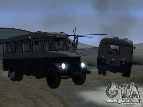 KAVZ 651A para la visión correcta GTA San Andreas