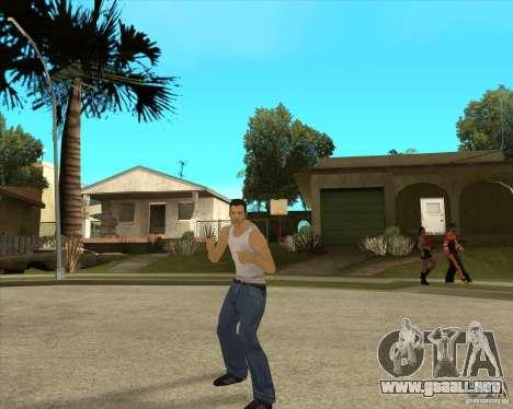 Piel Tommy Vercetti v1 FINAL para GTA San Andreas segunda pantalla