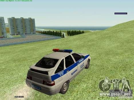 LADA 2112 DPS policía para la visión correcta GTA San Andreas