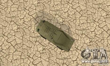 BRDM-1 piel 1 para visión interna GTA San Andreas
