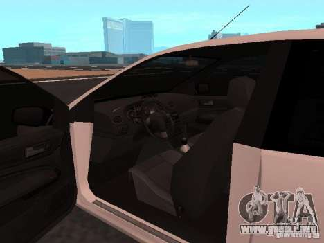 Ford Focus II para la visión correcta GTA San Andreas