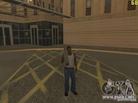 Regeneración de los brazos en asesinato para GTA San Andreas sucesivamente de pantalla