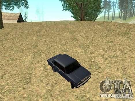 VAZ 2107 v1.1 para visión interna GTA San Andreas