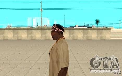 Superman bandana para GTA San Andreas segunda pantalla