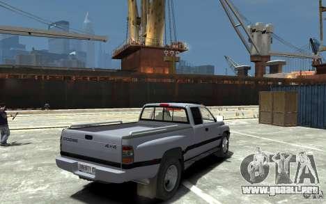 Dodge Ram 3500 1994 para GTA 4 visión correcta