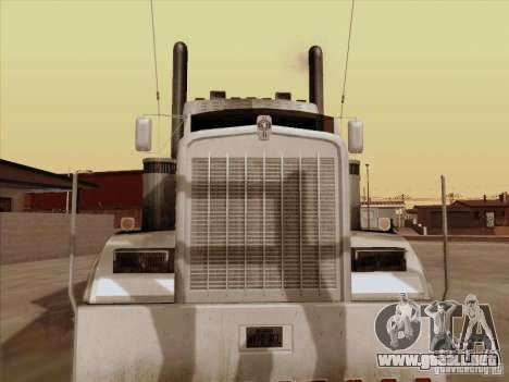 Kenworth W 900 RoadTrain para GTA San Andreas left