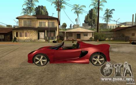 Lotus Elise from NFSMW para GTA San Andreas