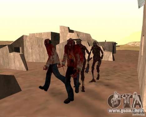 Zombie Half life 2 para GTA San Andreas sexta pantalla