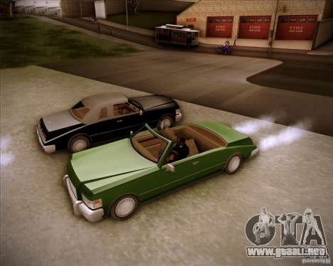 HD Idaho para GTA San Andreas vista posterior izquierda