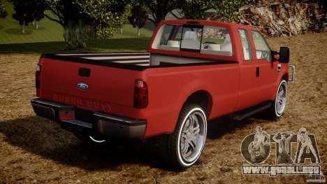 Ford F350 V8 2006 para GTA 4 vista lateral