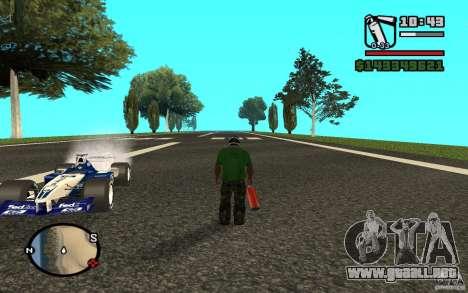 High-speed line para GTA San Andreas tercera pantalla