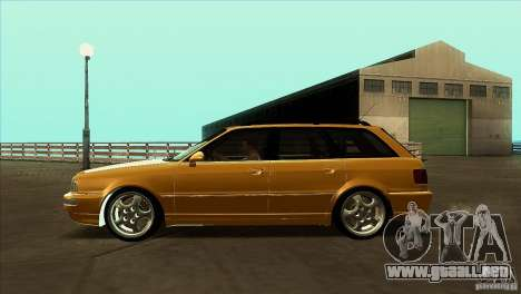 Audi RS2 Avant 1995 para GTA San Andreas left