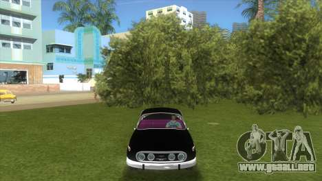 Tatra T2-603 1967 para GTA Vice City vista lateral izquierdo