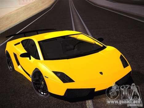 Orange ENB by NF v1 para GTA San Andreas sucesivamente de pantalla