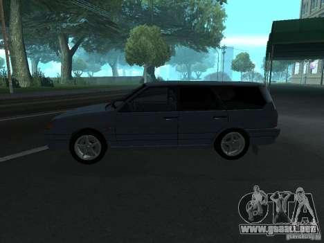 Touring 2114 ВАЗ para GTA San Andreas left