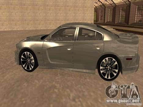 Dodge Charger SRT8 2011 V1.0 para GTA San Andreas vista posterior izquierda