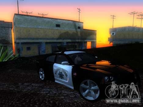 Dodge Charger SRT8 Police para la visión correcta GTA San Andreas