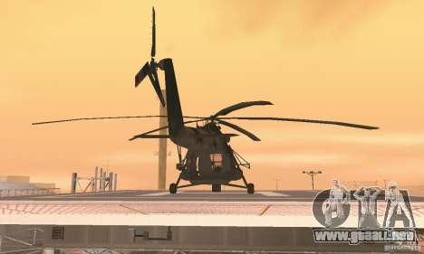 MI-17 para visión interna GTA San Andreas