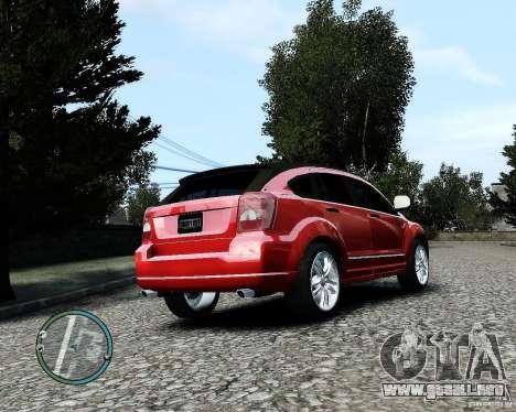 Dodge Caliber para GTA 4 vista superior