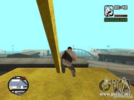 Desmond Miles para GTA San Andreas novena de pantalla