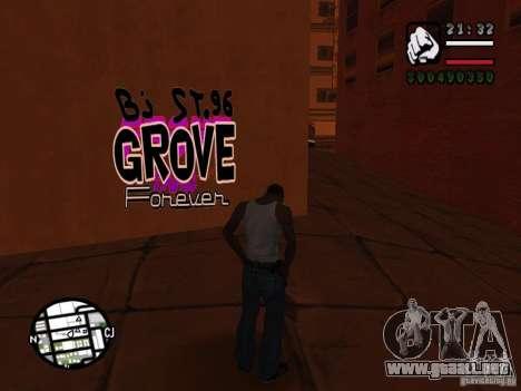 Nuevas bandas de graffiti para GTA San Andreas séptima pantalla