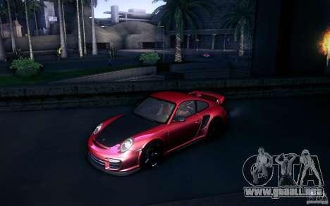 Porsche 911 GT2 RS 2012 para visión interna GTA San Andreas