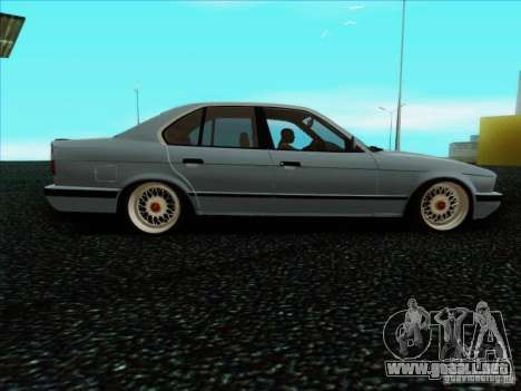 BMW 5 series E34 para GTA San Andreas left